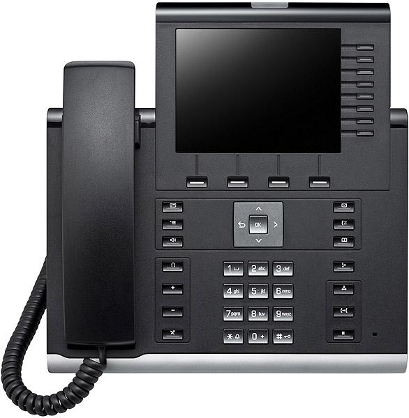 OpenScape Desk Phone IP 55G SIP icon black L F600